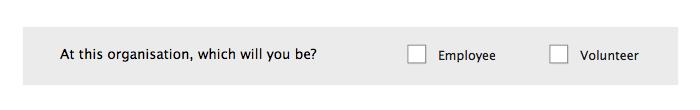 Form design: Don't set radio buttons horizontally example 2