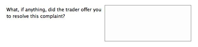 Forms design: Example of an overly complex form question