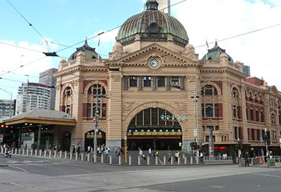 Image: Artist's impression of Flinders Street Station security upgrades
