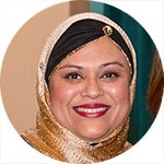 Naureen Choudhry, VMC Multicultural Meritorious Award 2018 recipient