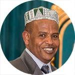 Abdu hamid Abdullahi Mohamed - Meritorious Service Award recipient