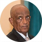 Adem Osman Malekin - Meritorious Service Award recipient