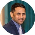 Satya Ramadugu - Meritorious Service Award recipient