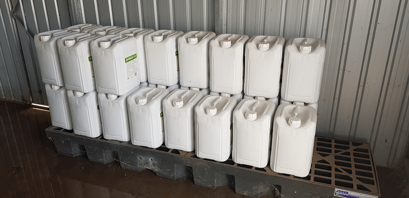 Yarriambiack council chemical supplies
