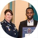 Wyndham Citizens' Academy - Police Community Exemplary Award recipient