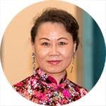 Xiao Yue Wang - Meritorious Service Award recipient