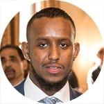 Yasac Abdullahi - Youth Award recipient