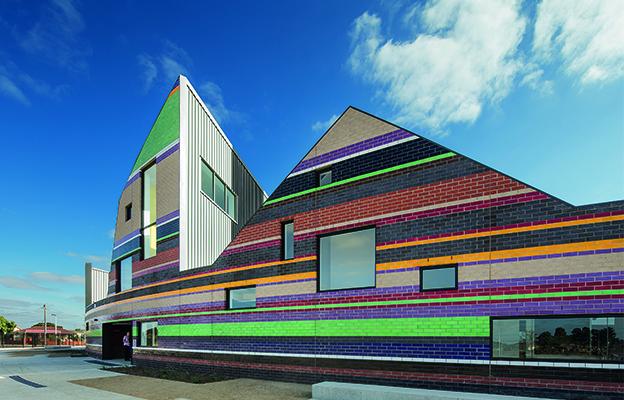 Dallas Brooks Community Primary School, Dallas, Architect: McBride Charles Ryan, Landscape Architect: Outlines Landscape Architect, Photography: John Gollings