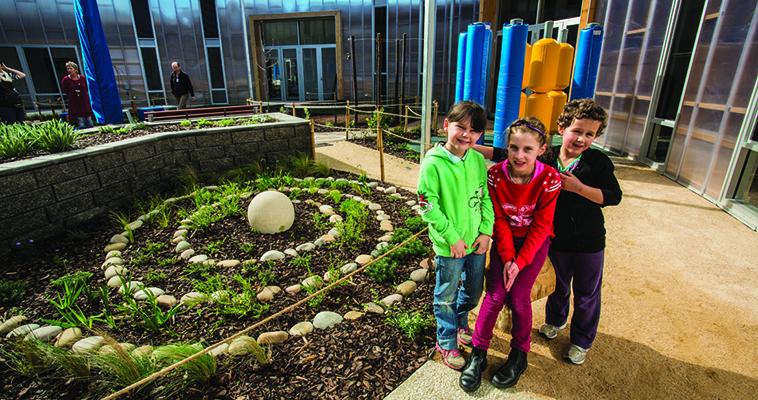 Horsham Special School, Horsham, Architect: Kneeler Design Architects, Landscape Architect: Mary Jeavons Landscape Architects, Photography: Silvi Glattaue