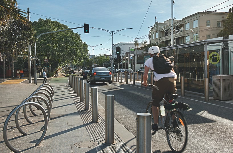 Fitzroy Street Tram Stop, Architect: Tract Consultants, Photography: Emma Cross