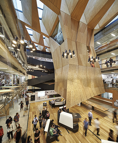 Melbourne School of Design, Architects: John Wardle Architects & NADAAA, Photographer: Peter Bennetts