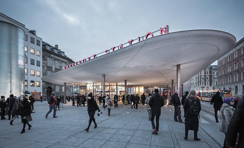 Norreport Station, Architect: COBE and Gottlieb Paludan Architects, Photographer: Rasmus Hjortshøj - COAST