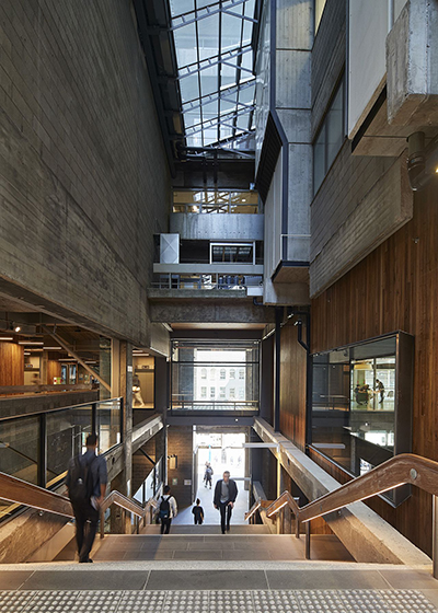 RMIT New Academic Street, Architects: Lyons, Minifie van Schaik Architects, NMBW, Harrison White and Maddison Architects, Landscape Architect: TCL, Photographer: Peter Bennetts