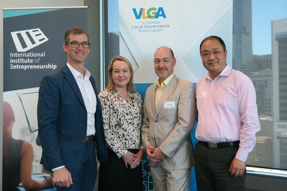 Group photo of VLGA panellists