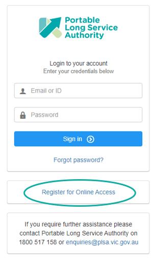 Online access
