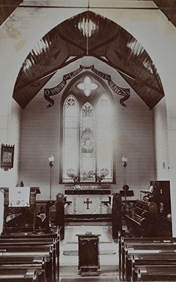 St Paul's Church c 1903 Euroa, Victoria