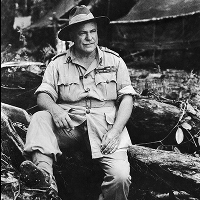 General Sir Thomas Blamey, Bougainville 26 March 1945