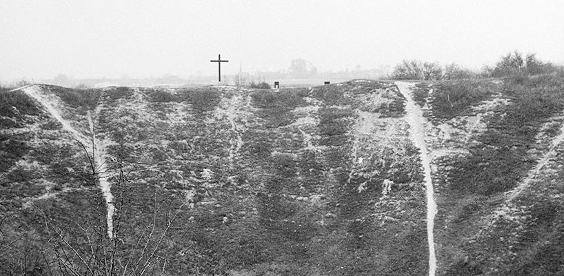 Untitled 1991  Lochnagar Crater  Western Front Series