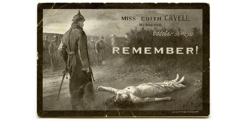 Edith Cavell postcard c1916