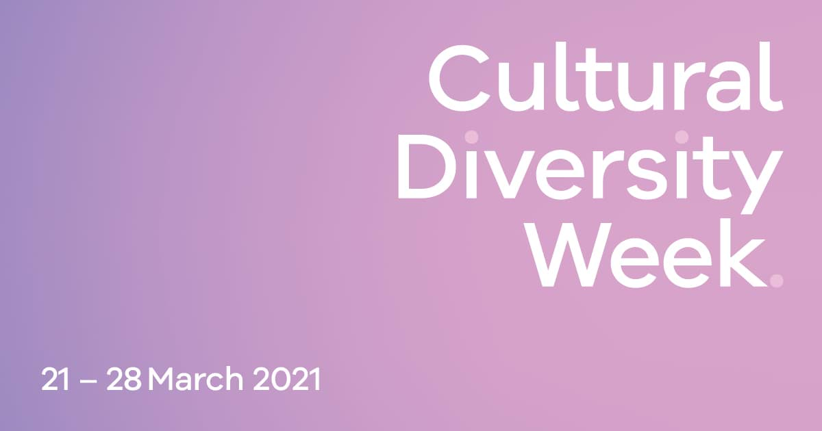 Facebook graphic Cultural Diversity Week 2021