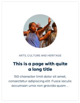 promotion card profile screenshot