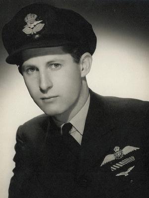 Pilot Officer Peter Isaacson DFC DFM 1943