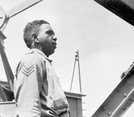 Reg Saunders, September 1940