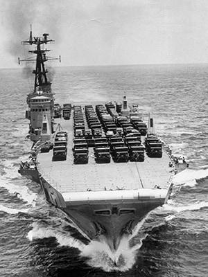 HMAS Sydney (III) c 1968