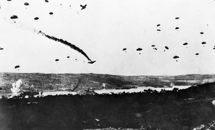German invasion Crete, May 1941